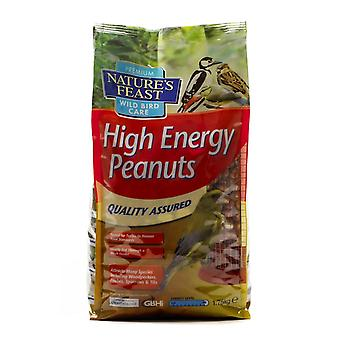 Natures Feast High Energy Peanuts 1.75kg