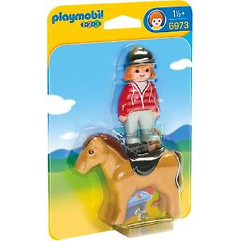 Playmobil 6973 Equestrian with Horse (Toys , Preschool , Playsets , Dolls)