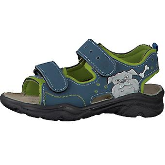 Ricosta Boys Surf Sandals Pavone Blue