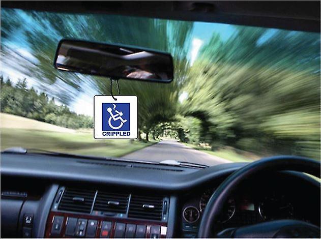 Kreupel auto luchtverfrisser