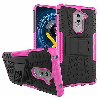 Hybrid case 2 piece SWL outdoor Pink for Huawei honor 6 X Pocket sleeve cover protection