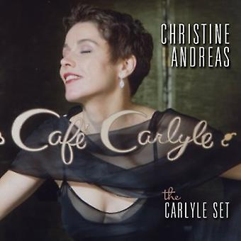 Christine Andreas - Carlyle sæt-Live på Cafe Carlyle [CD] USA import