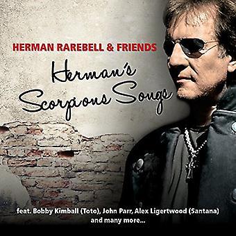 Herman Rarebell - Hermans Scorpion sange [CD] USA importerer