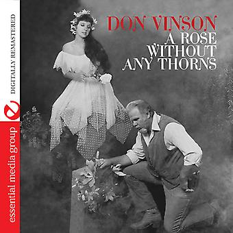 Don Vinson - Rose Without Any Thorns [CD] USA import