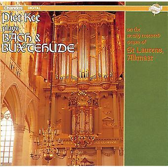 Bach/Buxtehude - Piet Kee Plays Bach & Buxtehude [CD] USA import
