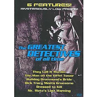 Største detektiver of All Time [DVD] USA importerer