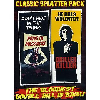 Classic Splatter Pack - Drive-in Massacre/Driller Killer [DVD]