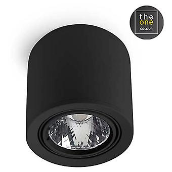 LEDs C4 Plafón Exit 1xLed Cree 25, 9W Negro (Home, verlichting, opknoping lampen)