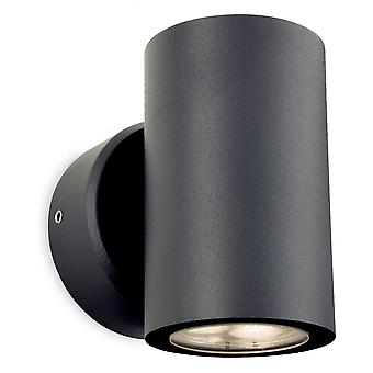 Firstlight Minimalist Graphite LED Outdoor Wall Light