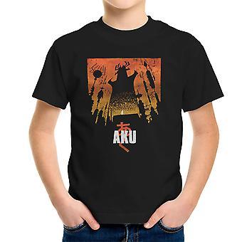 Koszulka dziecięca Akaiju Samurai Jack Aku
