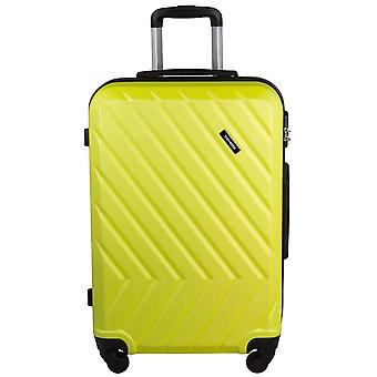 Travelite quick 4 wheels ABS hard shell trolley 4 wheel suitcase L 74 cm