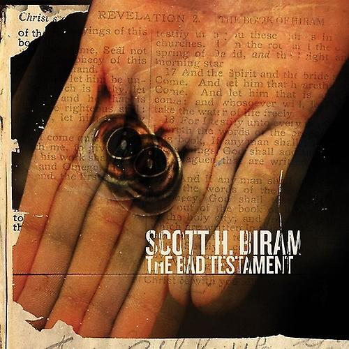 Scott H. Biram - Bad Testament [CD] USA import