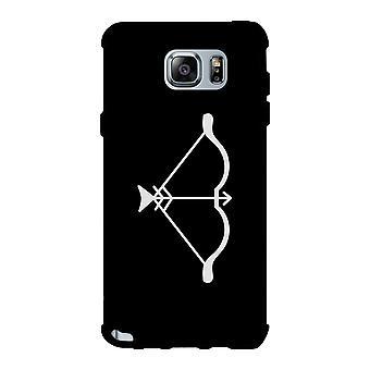 Bow And Arrow-Left Black Phone Case