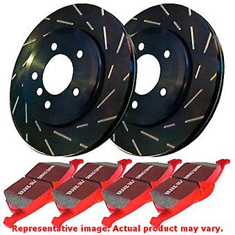 EBC Brake Kit - S4 Redstuff and USR rotors S4KF1459 Fits:FORD  2000 - 2003 EXCU