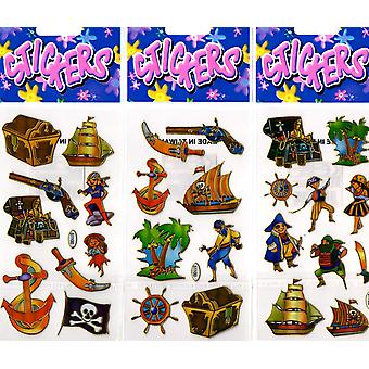 360 Packs of Pirate Stickers