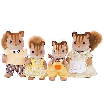 Sylvanian Families Walnut Squirrel Family Toy Set