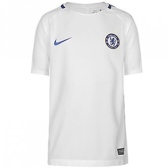 2017-2018 Chelsea Nike Training Shirt (White) - Kids