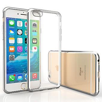 Caseflex Iphone 6s / 6 Electroplate TPU Gel Case - Silver