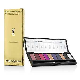 Yves Saint Laurent Couture Variation Collector 10 Colour Lip & Eye Palette - # 5 Nothing Is Forbidden - 5g/0.17oz