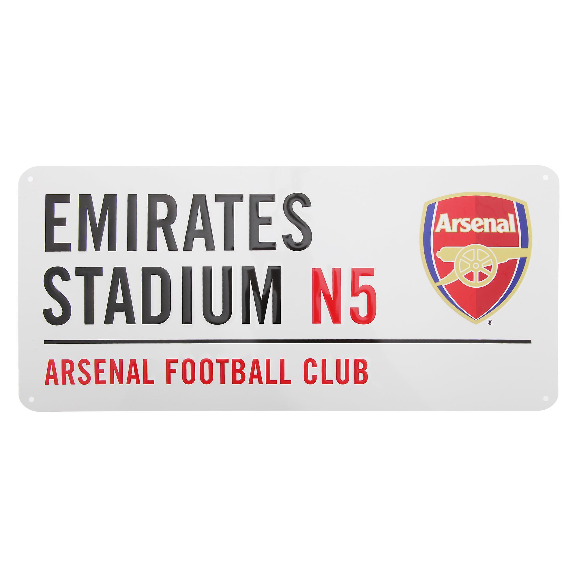 Arsenal FC officiële Emirates Stadion metalen Football Club straat teken