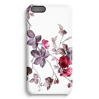 iPhone 6 Plus Full Print Case (Glossy) - Pretty flowers