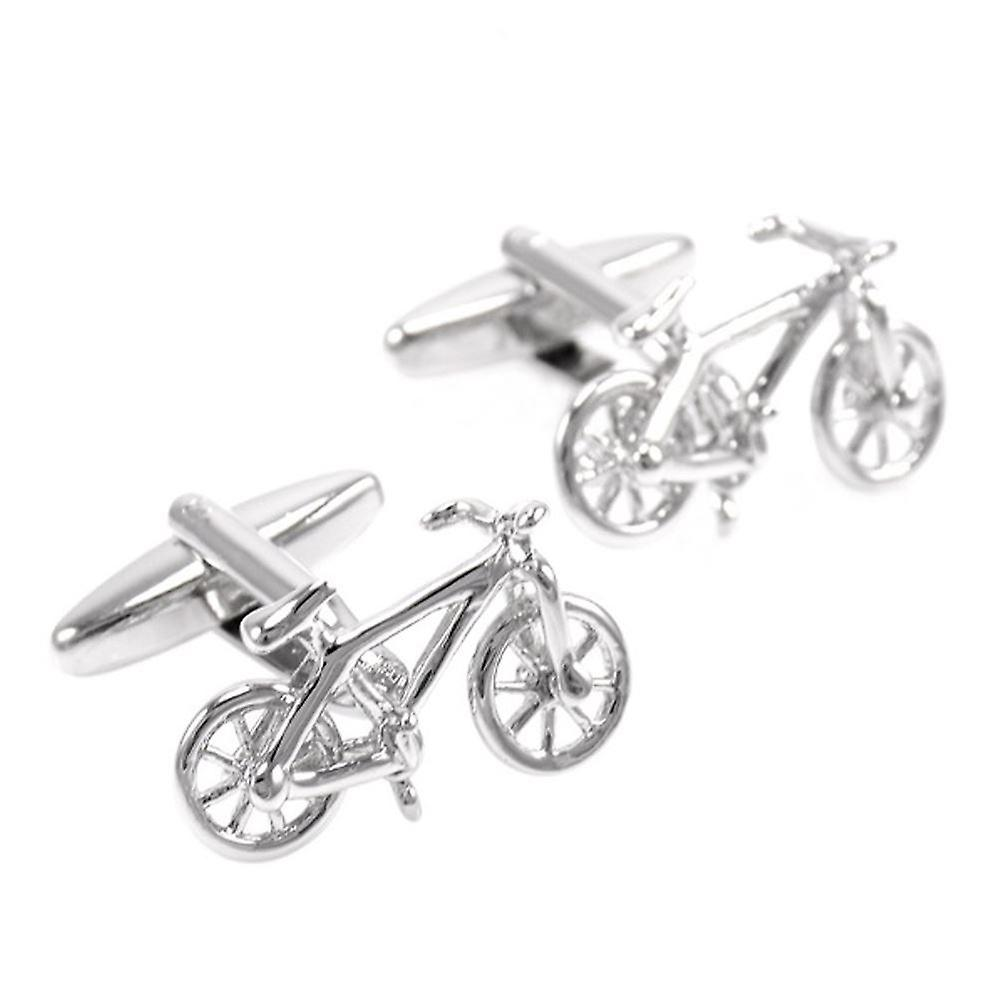 Tour De France Cycling Sports Cufflinks Cuff Bike Cycle Gift Yellow Jersey