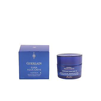 Guerlain Super Aqua Creme Baume Nuit Regeneration Intense 50ml Womens