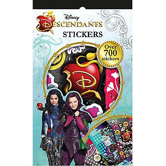 Hasbro Descendants Notebook 15X24 With 700 Sticker