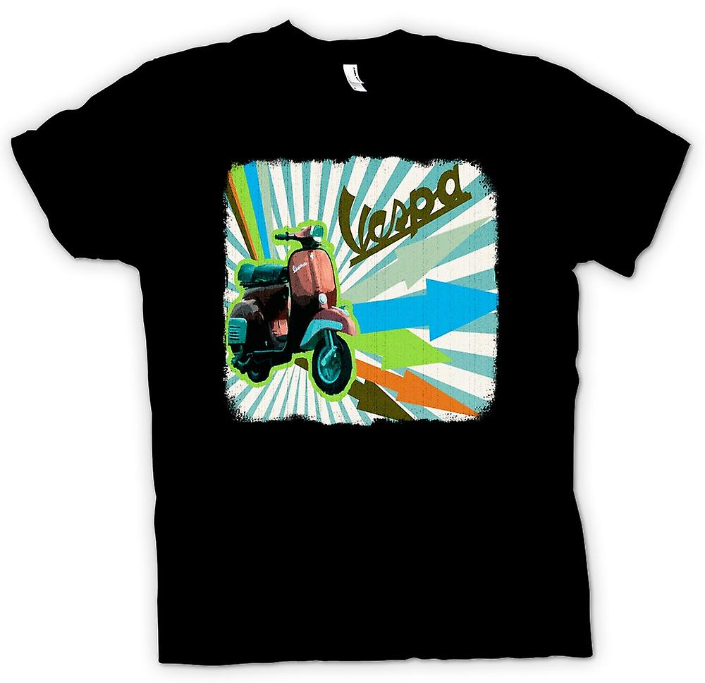 T-shirt - Vespa Scooter - Flèches
