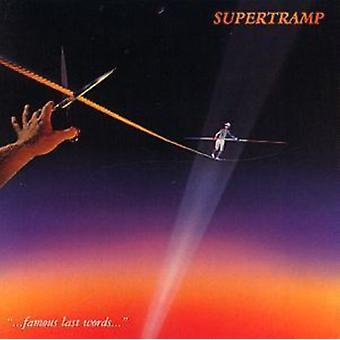 Famous Last Words by Supertramp