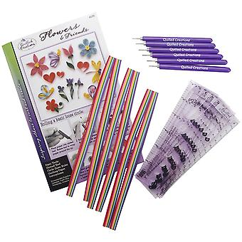 Quilling Class Pack Kit-Flowers & Friends