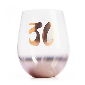 Birthday Blush Stemless Glass