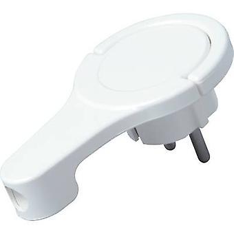 Kopp 172002037 CEE 7/16 safety plug 230 V White IP20