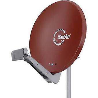 Kathrein CAS 90ro antenna SAT 90cm materiale riflettente: alluminio rosso marrone