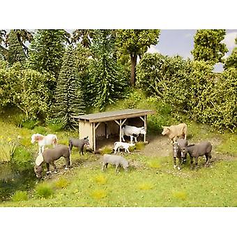 NOCH 0012042 H0 Cattle shelter