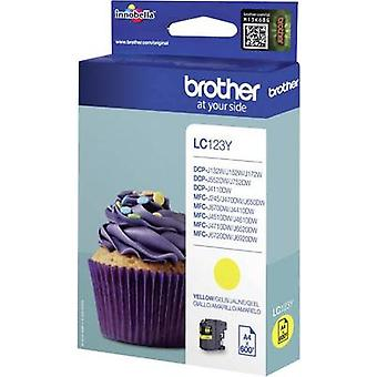 Brother Ink LC-123Y Original Yellow LC123Y