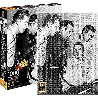Million Dollar Quartet (Elvis, J. kontanter) 1000 stykke Jigsaw Puzzle 690 X 510 Mm
