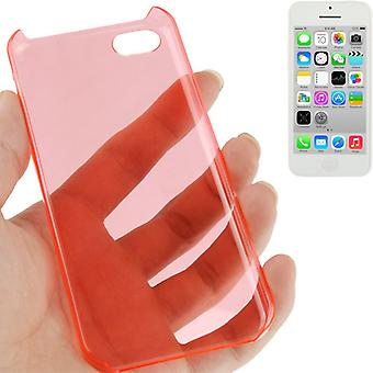Schutzhülle Hard Case für Handy Apple iPhone 5C rot