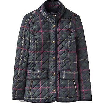 Na co dzień dżuli Odzież/Panie Newdale Print pikowane przycisk kurtka płaszcz
