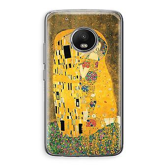 Motorola Moto G5 Transparent Case (Soft) - Der Kuss
