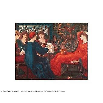 Laus Veneris Poster Print von Sir Edward Burne-Jones (20 x 16)