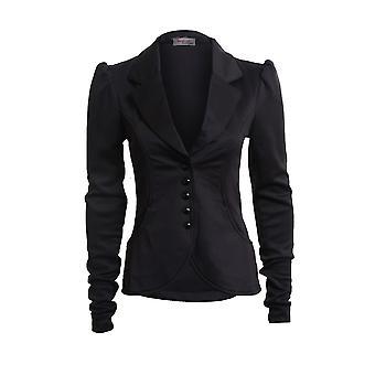 Neue Damen lange Ärmel 5 Tasten Slim Fit intelligente Pocket Damen Blazer