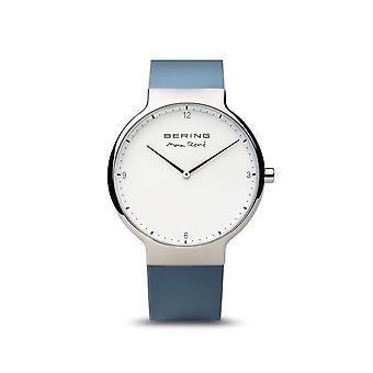 BERING - wrist watch - men's - Max René - shiny silver - 15540-700