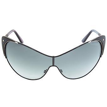 توم فورد فاندا النظارات الشمسية FT0364 01B | أسود الإطار | عدسة التدرج الرمادي