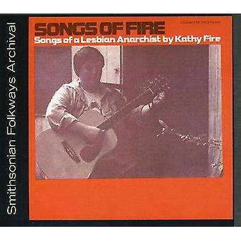 Kathy Fire - Songs of Fire: Songs of a Lesbian Anarchist [CD] USA import