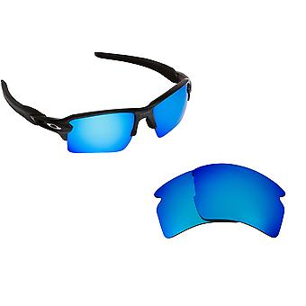 FLAK 2.0 XL Replacement Lenses Polarized Blue by SEEK fits OAKLEY Sunglasses
