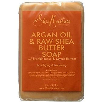 Shea Moisture Argan Oil & Raw Shea Soap 8oz