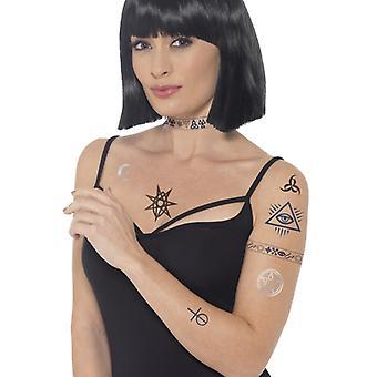 Occult tattoo transfers