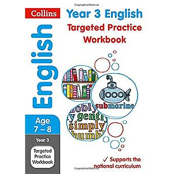 Year 3 English Targeted Practice Workbook by Collins UK - 97800082016