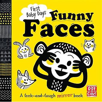 Funny Faces - A Look and Laugh Mirror Board Book by Pat-a-Cake - Mojca